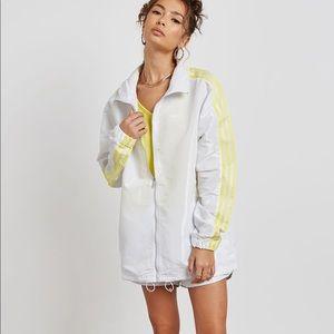 Adidas rain coat  blavin jackets